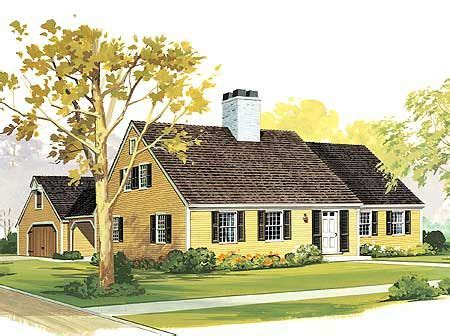 starter  retirement home plan cape  traditional