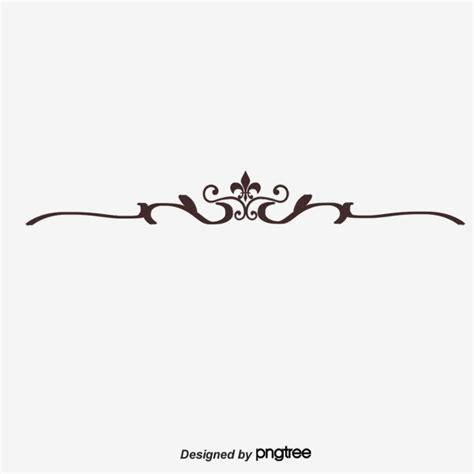 Decorative Divider Lines - dividing line decorative pattern horizontal line