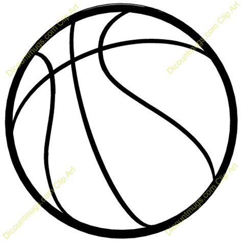 basketball clipart black and white basketball clipart clipartion
