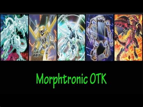 Morphtronic Deck October 2014 by Shooting Quasar Morphtronics Ygopro