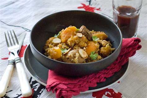 moroccan skillet quinoa  chicken