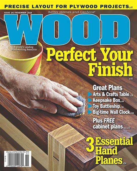 wood issue  november  woodworking plan  wood magazine
