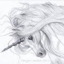 Unicorn Pencil Drawings