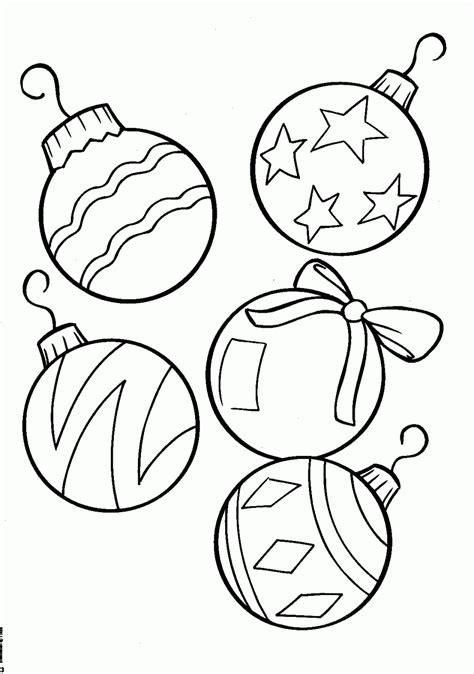 coloring pages tree lights coloring