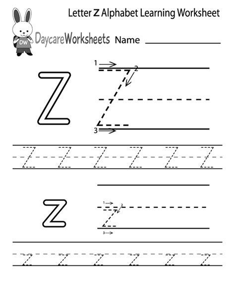 letter z worksheets to print worksheets printable