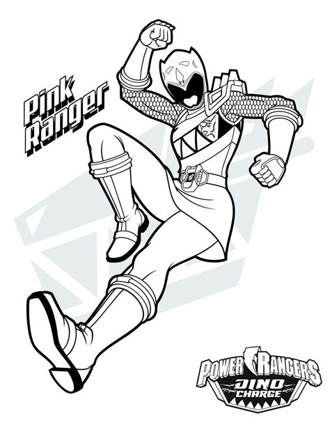 Power Ranger Dino Charge Coloring Pages Download Free