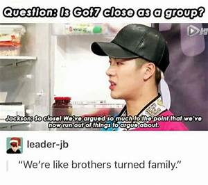 got7 funny mome... Funny Got7 Quotes