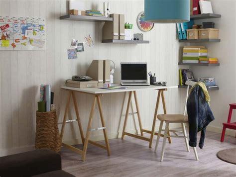 bureau treteau ikea 39 idées déco de tréteaux pour créer une table ou un bureau