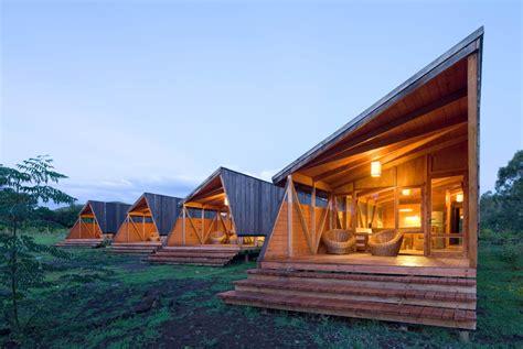 small cabin plans with basement cabañas morerava aata arquitectos plataforma arquitectura