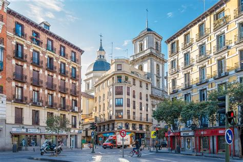 In The Streets Of Madrid Editorial Photography Image Of