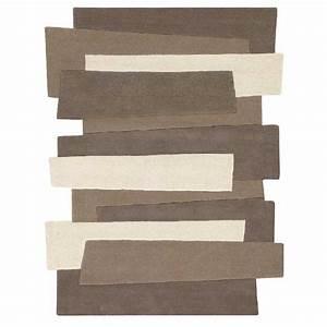 tapis de luxe design fantaisie taupe pebbles rectangulaire With tapis moderne avec produit répulsif chat canapé