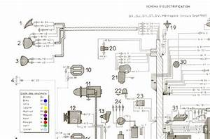 Citroen 2cv Wiring Diagram