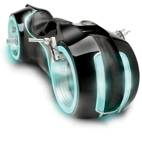 Lifesize TRON Light Cycle   The Green Head