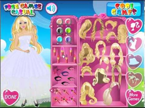 Juegos de vestir a barbie : Juegos de vestir a Barbie - YouTube