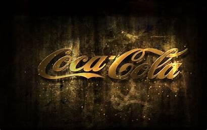 Cola Coca Wallpapers Backgrounds Logos Golden Umair
