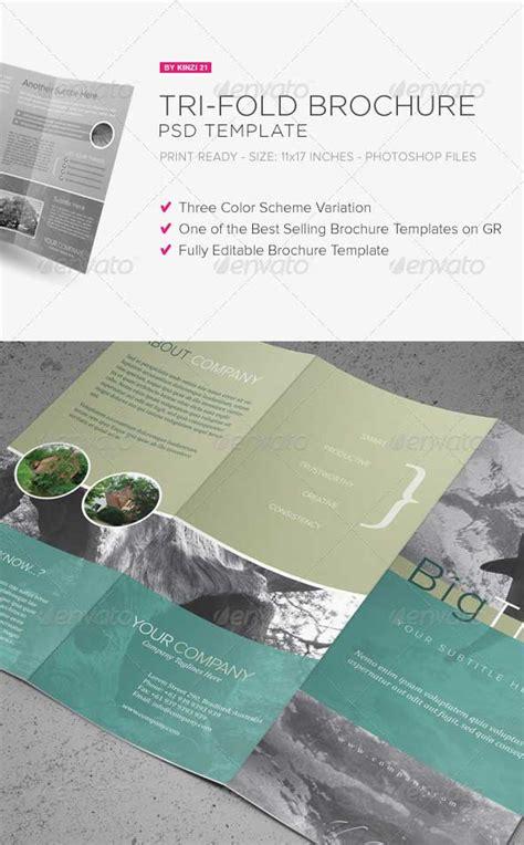 Tri Fold Brochure Template Psd by 30 Best Premium Printed Brochure Templates Designmaz