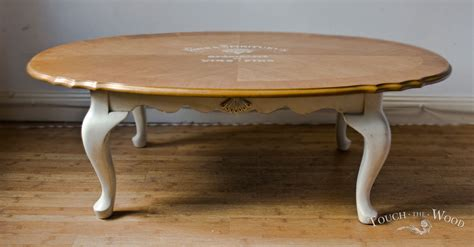 shabby chic coffee table shabby chic oval coffee table no 01 touch the wood