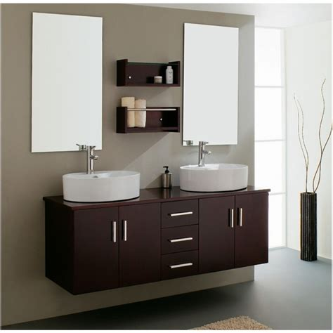 Bathroom Make Stylish Bathroom Add Floating Vanity