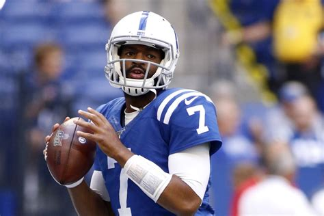 jacoby brissett set  start  indianapolis colts