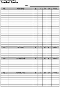 29 images of blank baseball lineup card template infovianet With softball batting order template