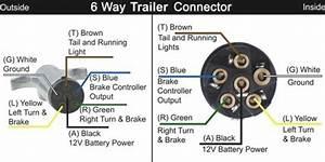 6way On 6 Pin Trailer Wiring Diagram