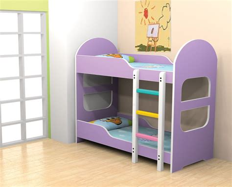 Furniture Low Black Bunk Bed With Curved Stairs And
