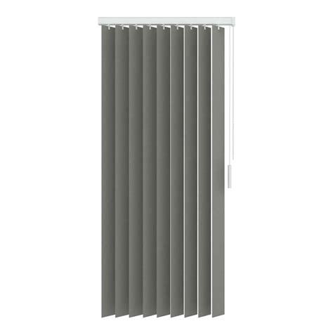 lamellen verticaal stof stoffen verticale lamellen lichtdoorlatend 89 mm grijs