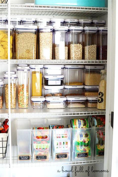 kitchen food storage ideas pantry organization via a bowl of lemons i need