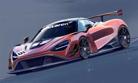 Trackonly Mclaren 720s Gt3 Sketches Revealed Autodevot