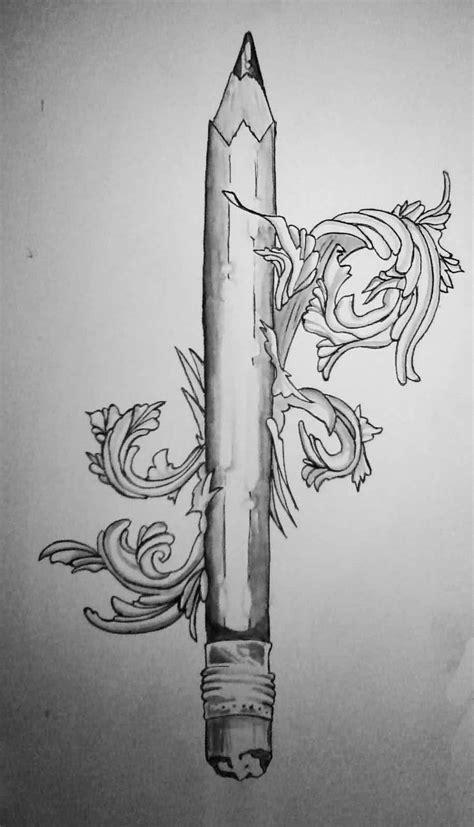 pencil tattoo drawings drawing art gallery