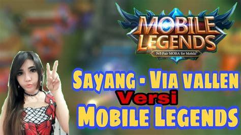 Via Vallen Versi Mobile Legends