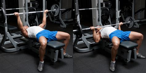 Reverse Grip Bench Press  Weight Training Exercises 4 You