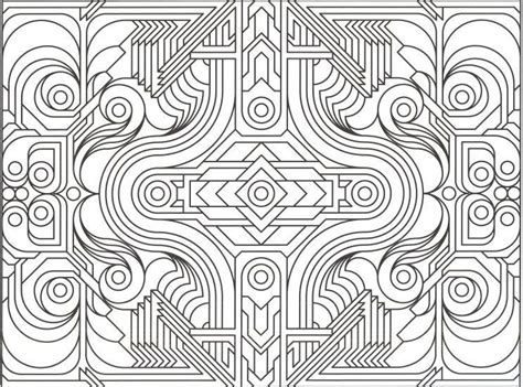 Printable For Adults Geometric
