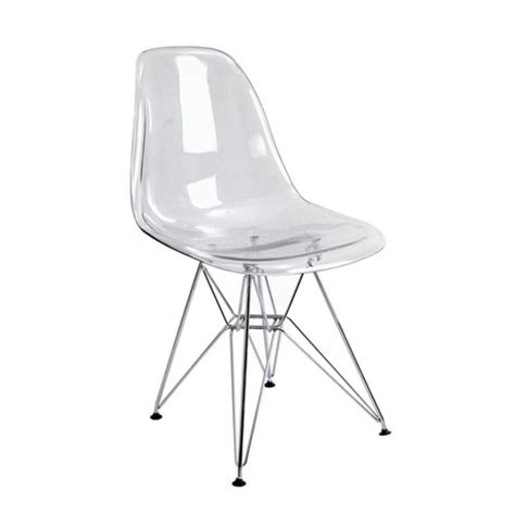 chaise plexi transparente clear chair