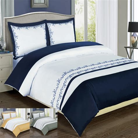 duvet sets king amalia embroidered king size duvet cover set duvets 3491