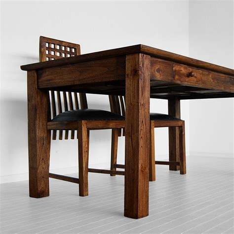 dining room table with drawers dining table modern dining table drawers