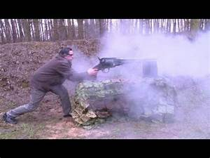 Big Gun: World's largest firing revolver unveiled - YouTube