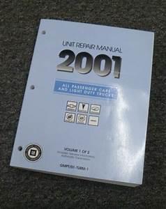 2001 Buick Lesabre Shop Service Transmission Overhaul