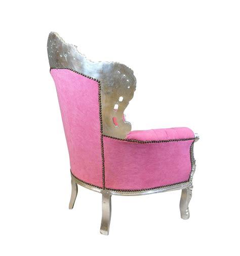 barock sessel rosa sessel barock pink barock m 246 bel aus holz