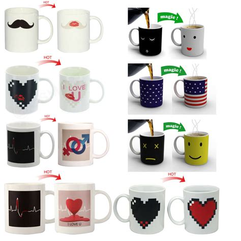 color changing mugs heat color changing mug morning color cup coffee magic tea