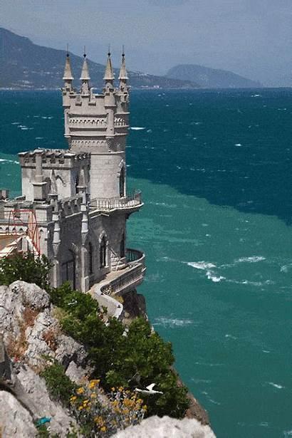 Places Castle Ukraine Castles Around Sea Visit