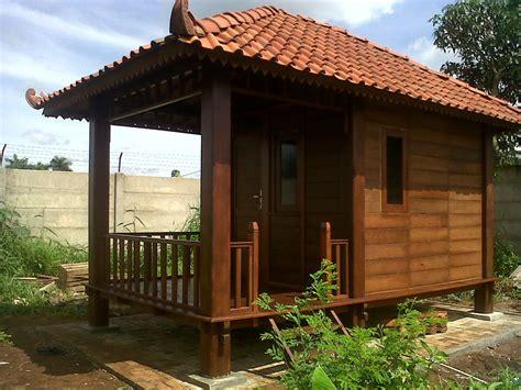 rumah kayu minimalis desain jepara