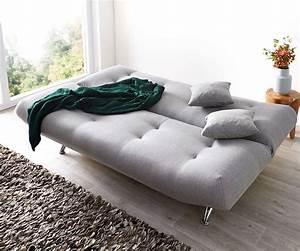 Schlafsofa Grau Mit Bettkasten : schlafsofa viol 190x90 cm grau couch mit bettkasten m bel sofas schlafsofas ~ Bigdaddyawards.com Haus und Dekorationen