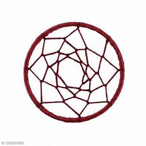 Tissu Attrape Reve : pendentif attrape r ves en tissu rouge corail 60 mm ~ Teatrodelosmanantiales.com Idées de Décoration