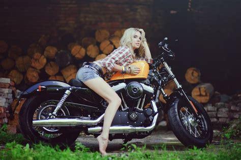 Motorcycle Girl 76