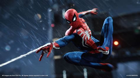 Check Out Some New Spider-man Ps4 Pro 4k