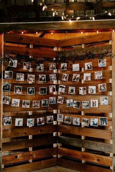 diy country wedding ideas  pallets  save budget