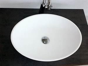 Corian Waschbecken Preise : aufsatz waschbecken gioia in steinguss weiss matt wie corian ~ Sanjose-hotels-ca.com Haus und Dekorationen