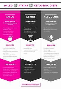 Paleo Vs Atkins Vs Keto Diets  Comparison