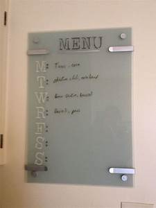 glass ikea kludd whiteboard painted behind the whiteboard With kitchen colors with white cabinets with inkjet clear sticker paper